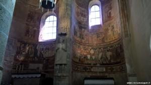 Monastero di San Giovanni, affreschi romanici