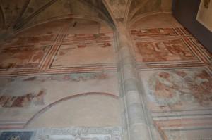 Monastero di San Giovanni a Mustair, affreschi carolingi