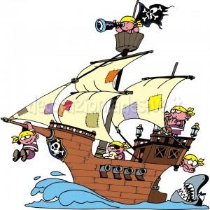 Galeone pirati