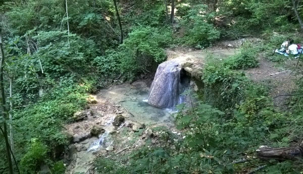 Cascate del Bucamante a Serramazzoni Modena
