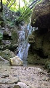 Cascate Bucamante, cascata