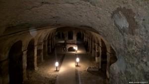 Camerano, Chiesa all'interno della città sotterranea