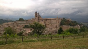 Urbino, panoramica dal belvedere