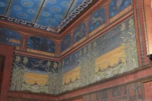 Bentivoglio, Palazzo Rosso, Sala dello Zodiaco, decorazioni