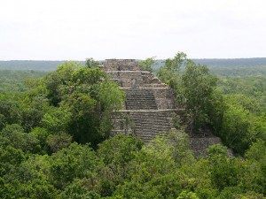 Sito Maya di Calakmul, Messico