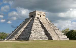 Sito Maya a Chichen Itzà, Messico