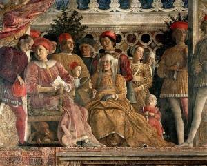 Mantova, Camera degli Sposi, Castello San Giorgio, La corte di Ludovico III Gonzaga, Andrea Mantegna