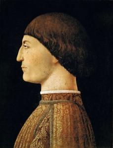 Sigismondo Malatesta ritratto da Piero della Francesca