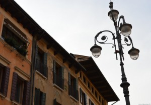 Treviso, centro storico, affreschi esterni