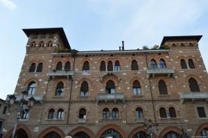 Treviso, palazzo centro storico