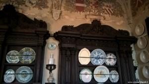 Fontanellato, Rocca Sanvitale, sala da pranzo