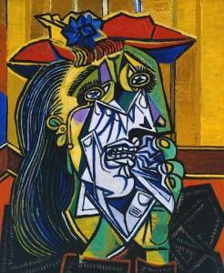 La donna che piange, Pablo Picasso