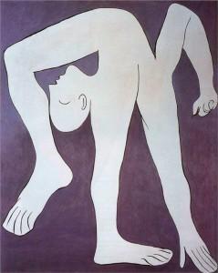 L'acrobata, Pablo Picasso