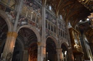 Parma, il Duomo, interno