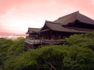 Kyoto, Kiyomizu-dera tempio buddista