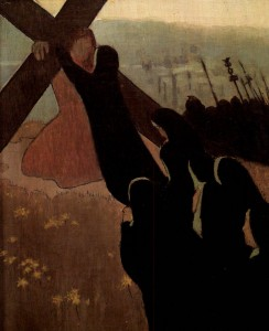 Maurice Denis, Montée au Calvaire, 1899