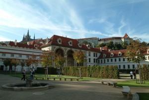 Palazzo Wallenstein, Praga