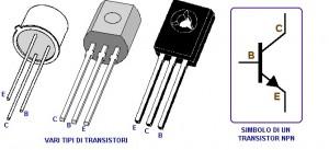 Vari tipi di transistor