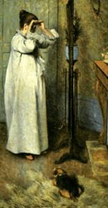 Giovane donna allo specchio, Federico Zandomeneghi