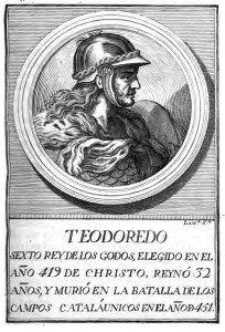 Poster di Teodorico I re dei Visigoti, University of Oxford