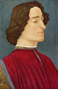 Ritratto di Giuliano de' Medici, Sandro Botticelli