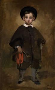 Ritratto di un bambino della famiglia Lange (1861 circa), Eduard Manet