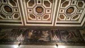 Bologna, Palazzo Poggi, affreschi