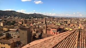 Bologna, veduta dalla terrazza panoramica