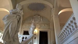 Imola, Palazzo Tozzoni, scalinata