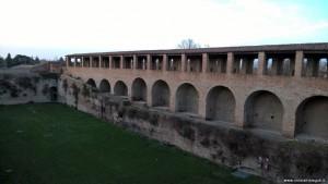 Imola, Rocca Sforzesca e cortile interno