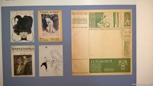 MAGI '900, mostra Omaggio alla femminilità nella Belle Epoque, copertine riviste illustrate