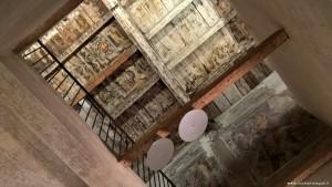 Bologna, Palazzo Sanguinetti già Aldini, sede Museo della Musica, prime decorazioni originali soffitto