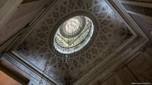 Bologna, Palazzo Sanguinetti già Aldini, sede Museo Internazionale della Musica, soffitto scalone