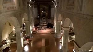 Bologna, chiesa sconsacrata complesso Colombano, sede esposizione collezione Tagliavini di strumenti musicali antichi