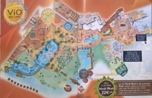 Therme Erding, mappa Sauna-Paradies