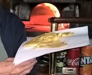 Ferrara, Pizzeria Orsucci, farinata di ceci al taglio