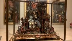 Modena, Galleria Estense, presepe di coralli