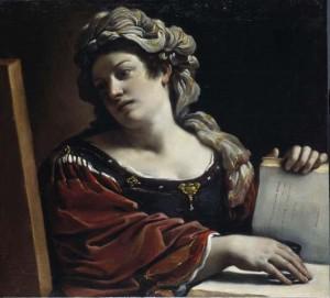 Sibilla, 1620, Guercino