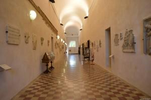 Cesena, Biblioteca Malatestiana, Galleria