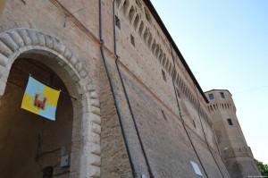 Cesena, Rocca Malatestiana da Piazza del Popolo