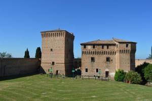 Cesena, Rocca Malatestiana, nucleo centrale e antica piazza d'armi