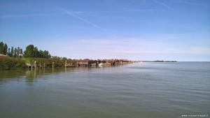 Parco del Delta del Po, deposito di barche a Pila