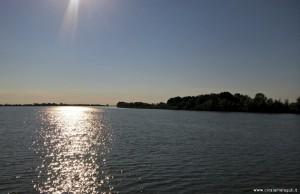 Parco del Delta del Po, tramonto