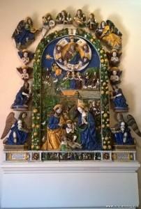 Terracotta invetriata di Giovanni della Robbia, ca 1521, Museo del Bargello, Firenze
