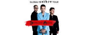 Depeche Mode, Global Spirit Tour, locandina