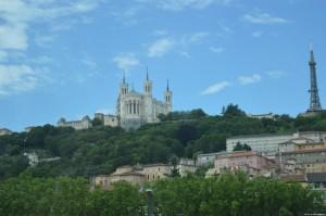 Lione, Basilica Notre Dame dei Fourviere, collina di Fourviere
