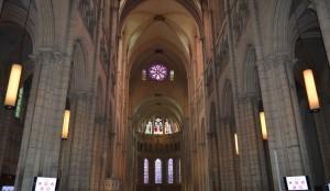 Lione, Cattedrale di St Jean, interno