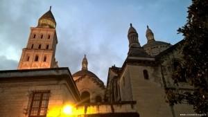 Perigueux, Cattedrale di Saint Front al tramonto