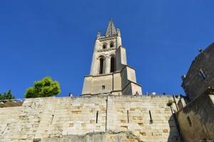 Saint Emilion, campanile chiesa romanica