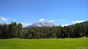 Latemar, panoramica da Nova Ponente